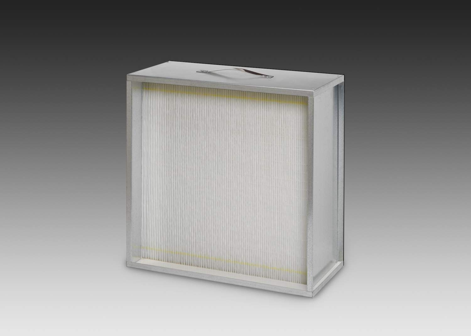 "24"" x 24"" x 11-1/2 99.97% Aerostar® High Capacity Gasketed Box Style M Series HEPA Filter product photo"