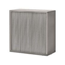 "24"" x 24"" x 11-1/2 99.97% Aerostar® High Capacity Gel Sealed Box Style HP HEPA Filter with Extraction Clips product photo"