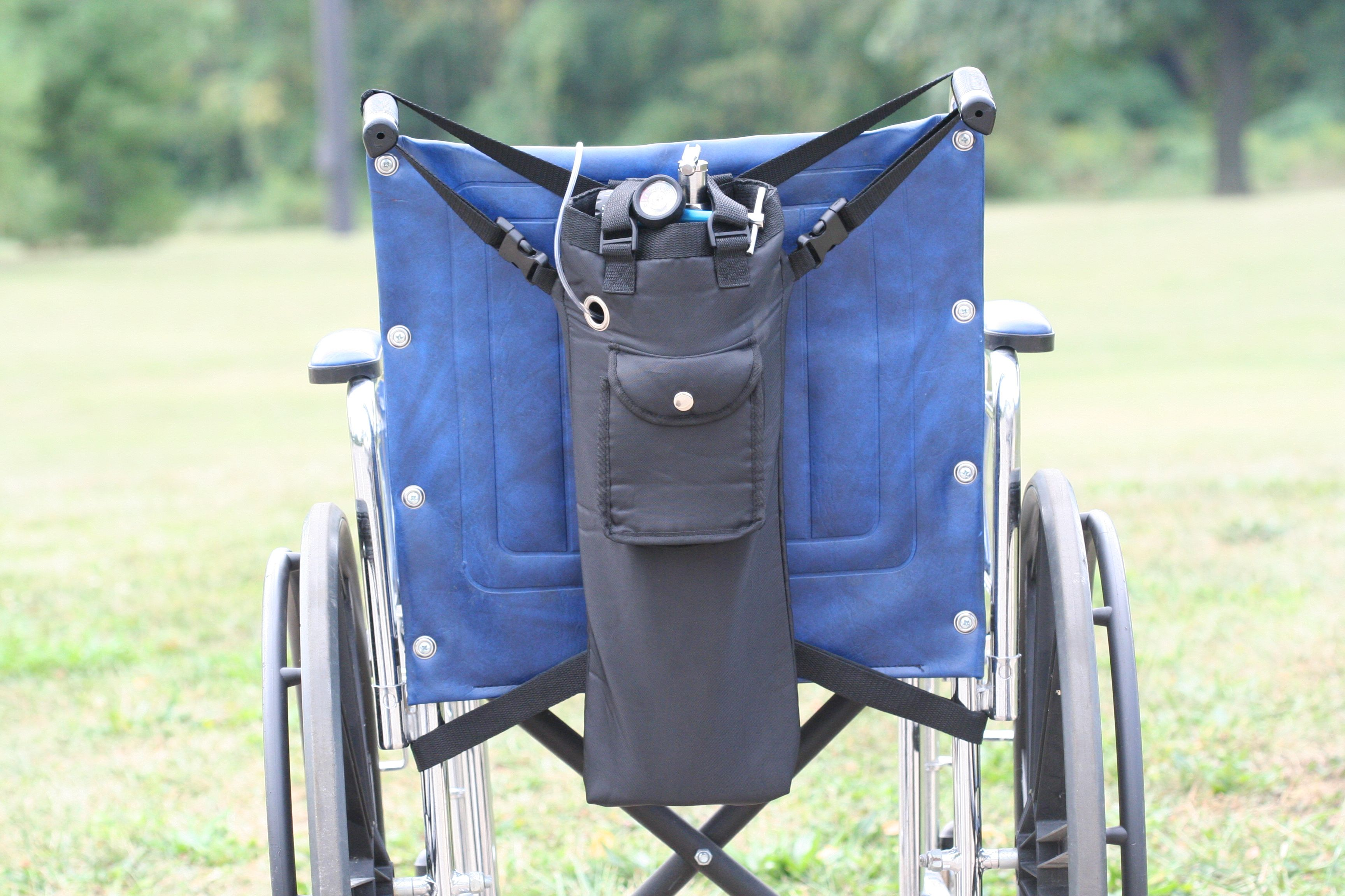 MWB-E E Oxygen Cylinder Wheelchair Bag product photo